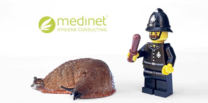 Policeman snail
